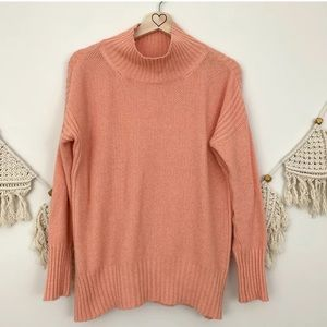 Anthro Angel Of The North Aisla Peach Sweater